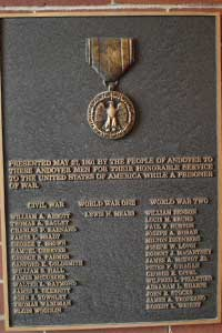 Prisoner of War Plaque